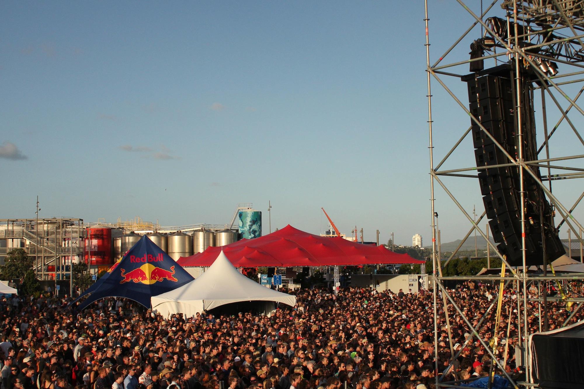 Laneway Festival Auckland 2014