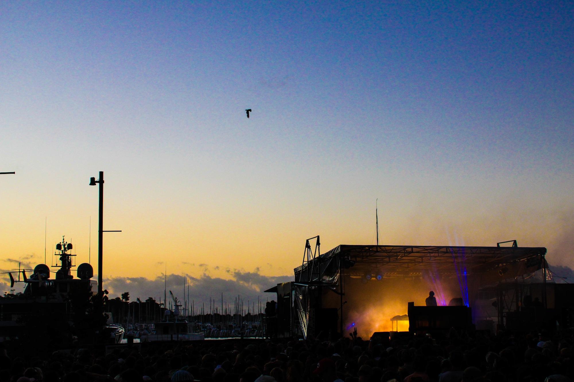 Jamie XX - Laneway Festival Auckland 2014