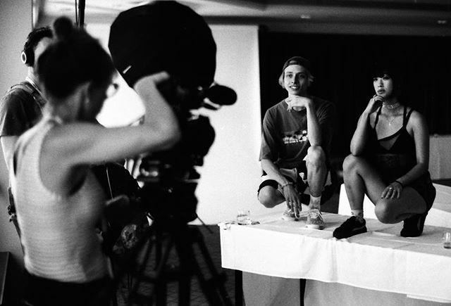 Gwen films Imugi #lanewayfestival #lanewayauckland #imugi #35mmfilmphotography #analog #monochrome #blackandwhite #illfordhp5 #nikonfe2 #nikkor50mmf12