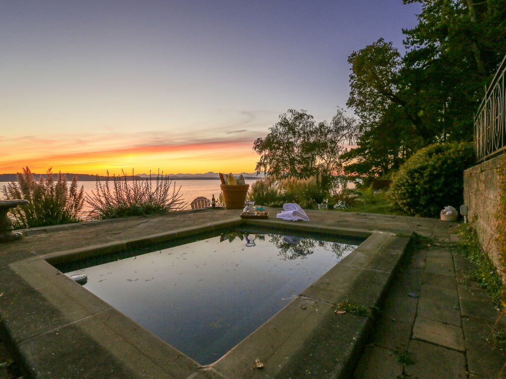 #12 Sunset from Your Spa Nestled Under the Terraced Patio.jpg
