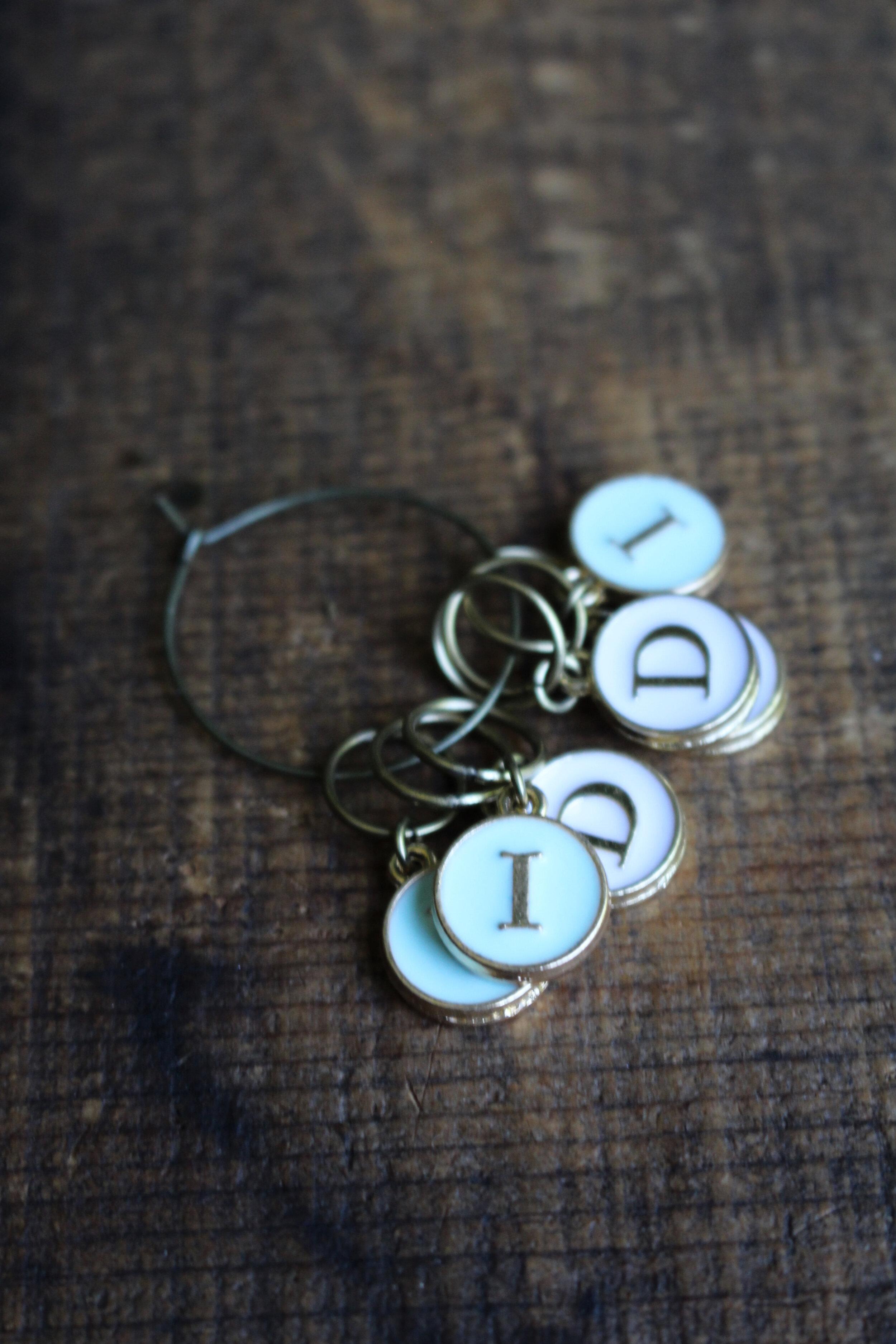 present for knitterscrocheters Set of 3 beautiful acorn progress markers gift for knitterscrocheters Valentine gift for her