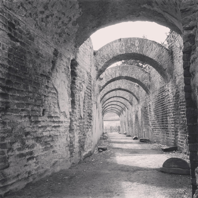 ruins italy