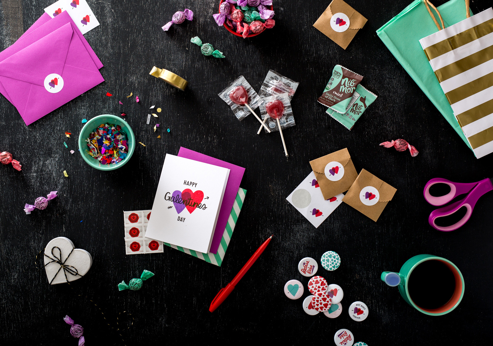 Galentines Day Card Set Care Package Party Pack