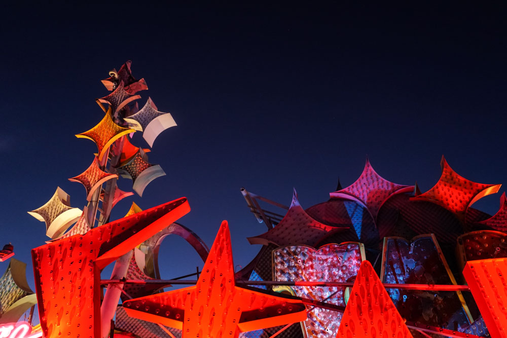 the Neon Museum vintage neon sign by Kat Marshello