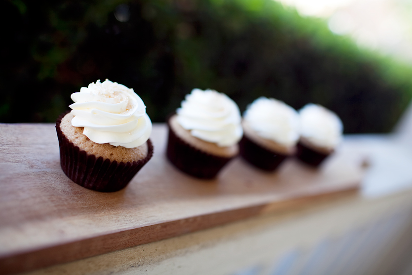 CINNAMON SUGAR  spiced cupcake topped with cinnamon frosting and sugar