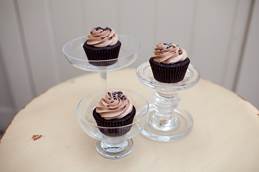 CHOCOLATE  our signature chocolate cupcake topped with chocolate buttercream and mini chocolate chips