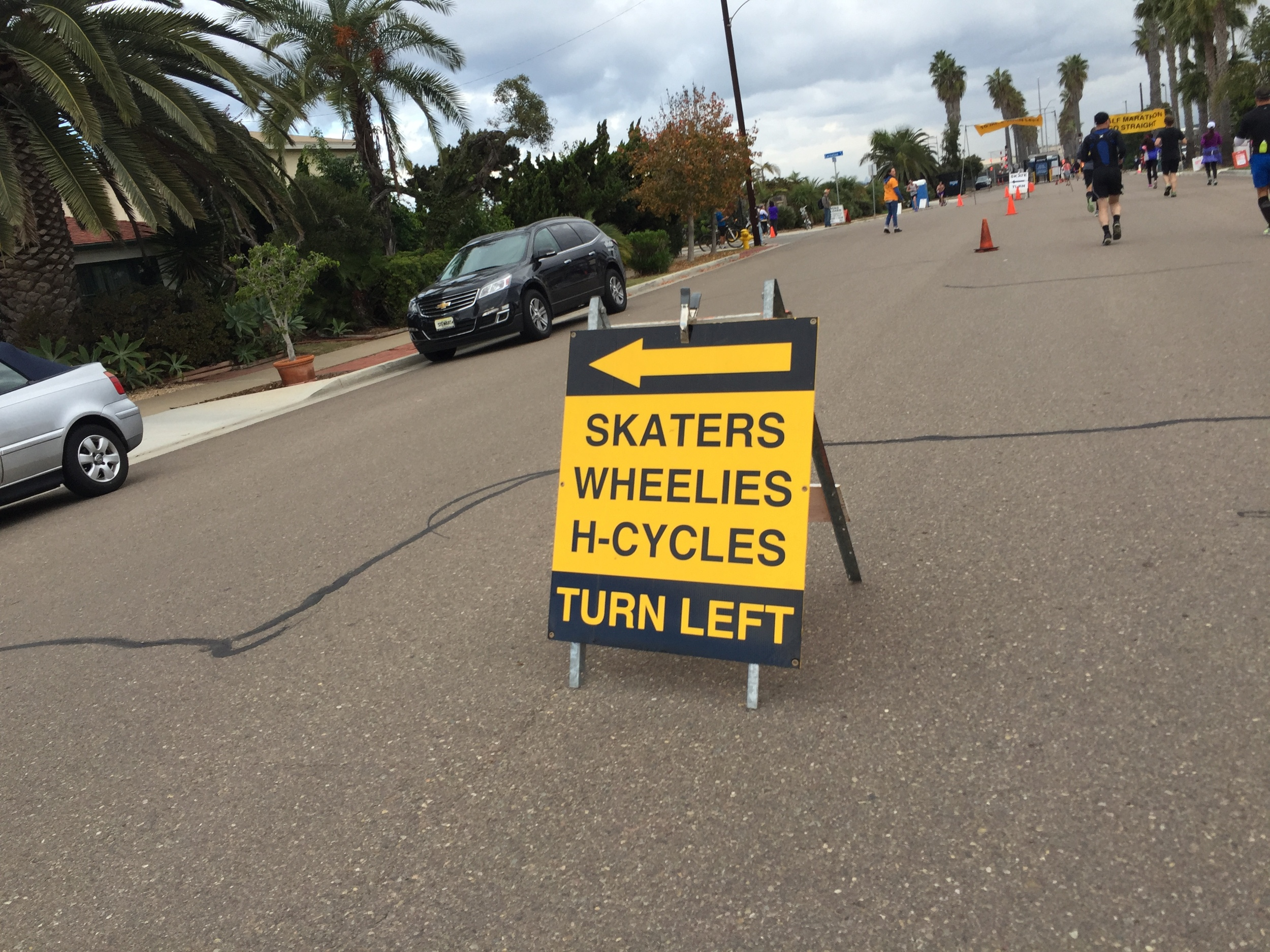 Such an obscure race. There was an inline skate division and even an elliptigo division!