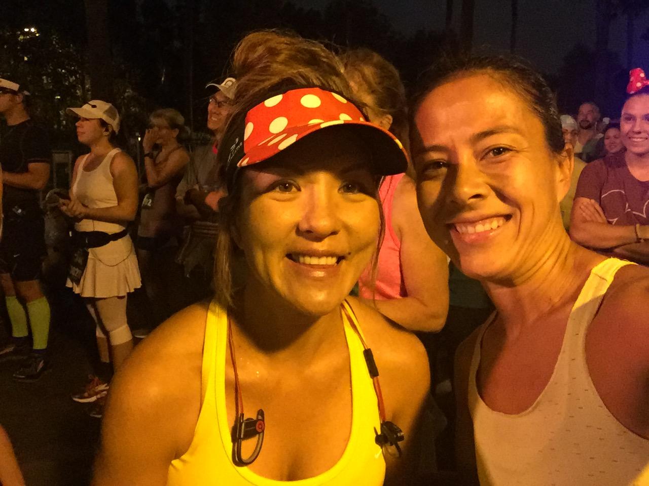 FINALLY GOT TO MEET THIS FAST MOTHER RUNNER, @PAMMYRUNS! SHE IS AMAZING!