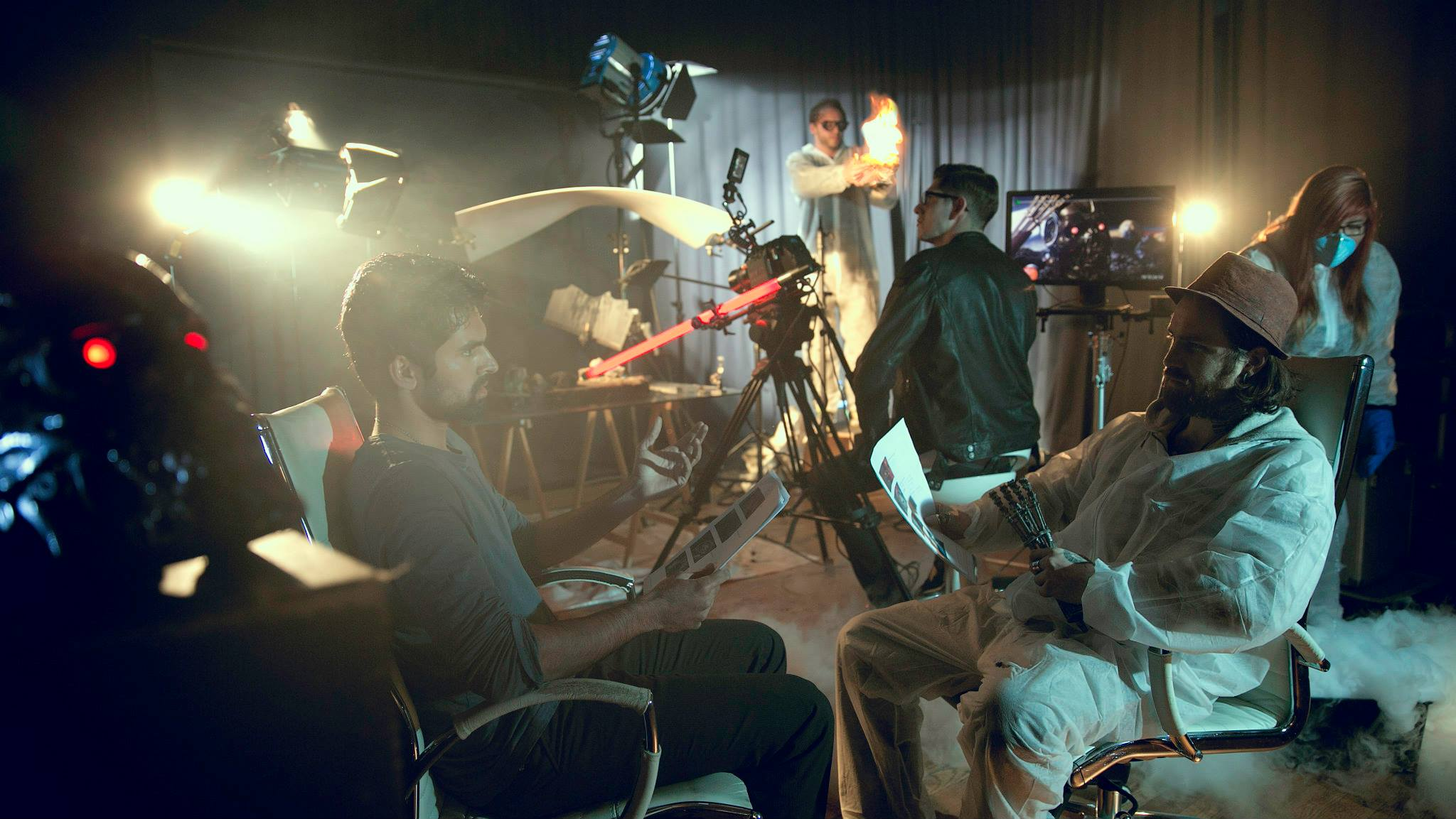 Behind the Scenes: Terminator Feat. Police Watch AD by Joel Cartier