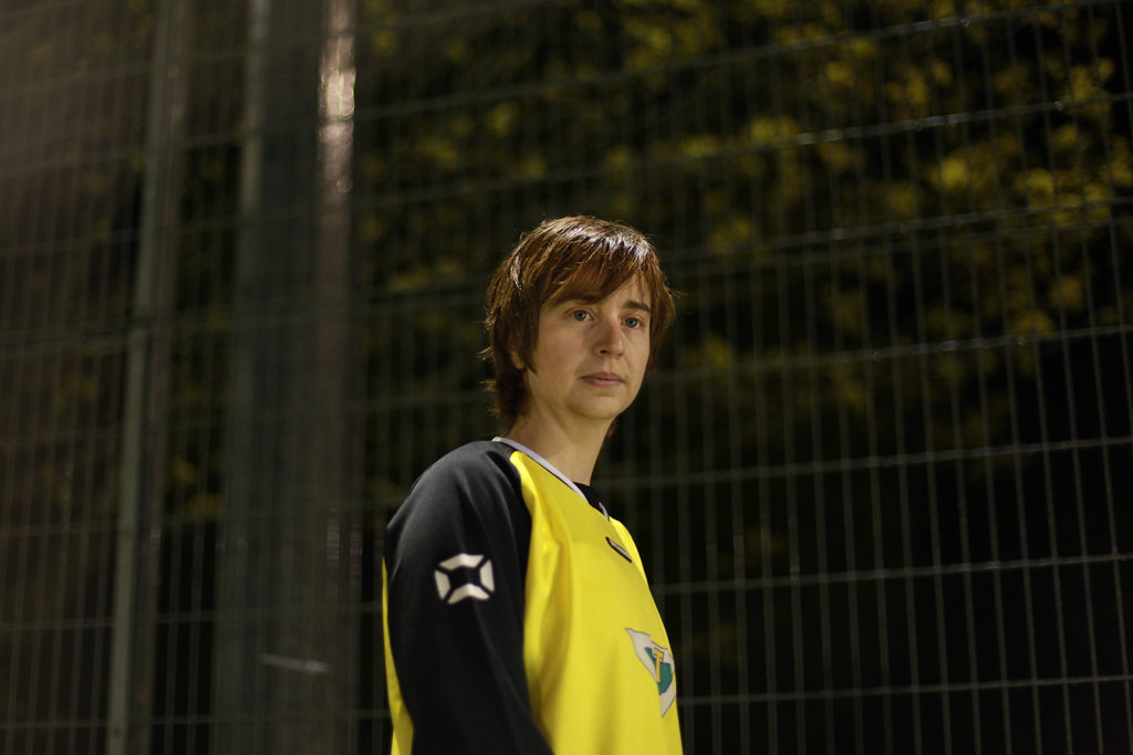 Portrait // Sophie Green, 29, Milton Keynes, Secretary of Tring Athletic FC and Post- Doctoral Researcher, 2012.