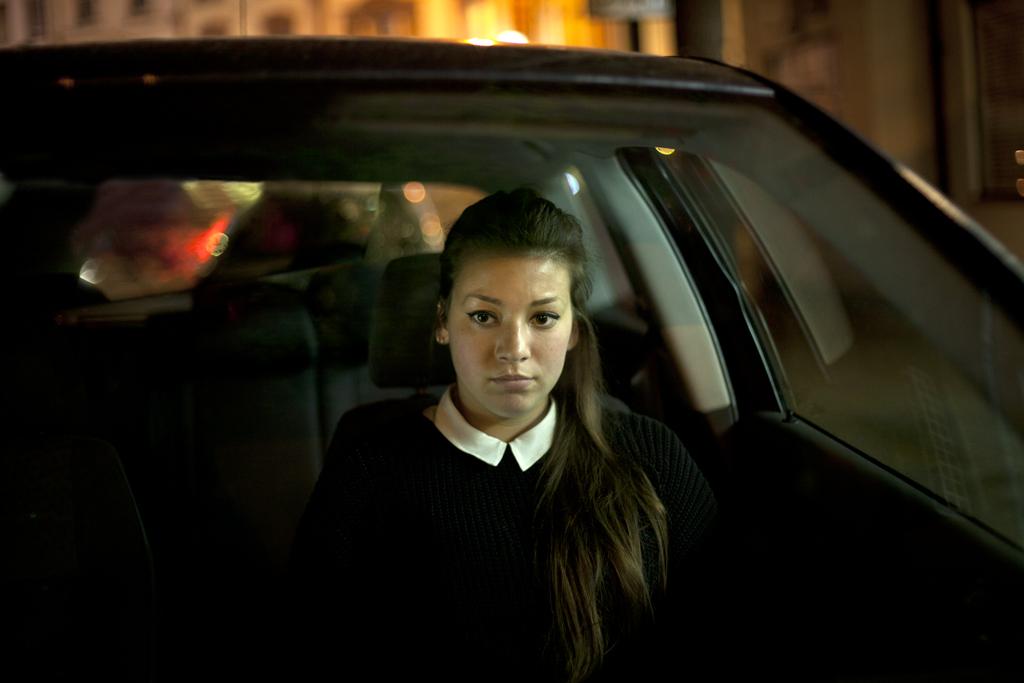 Self- Portrait // Sophie Green, 21, Camberwell, London, 2012.
