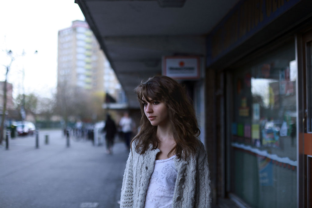 Portrait // Sophie Green, 19, Oxford, Graphic Design Student, 2012.