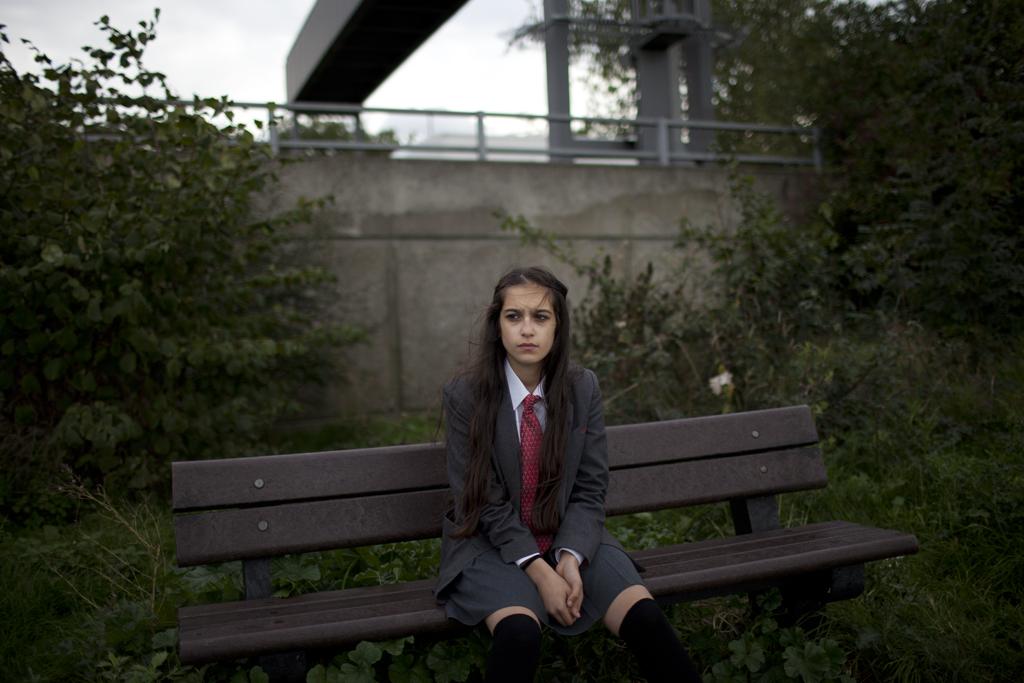 Portrait //  Elif, Hackney.
