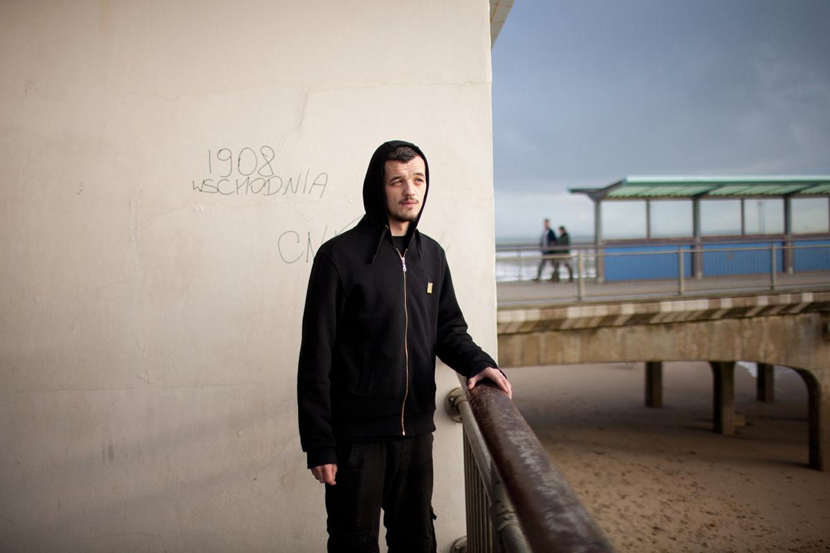 Portrait // Ryan, Boscombe, 2014.