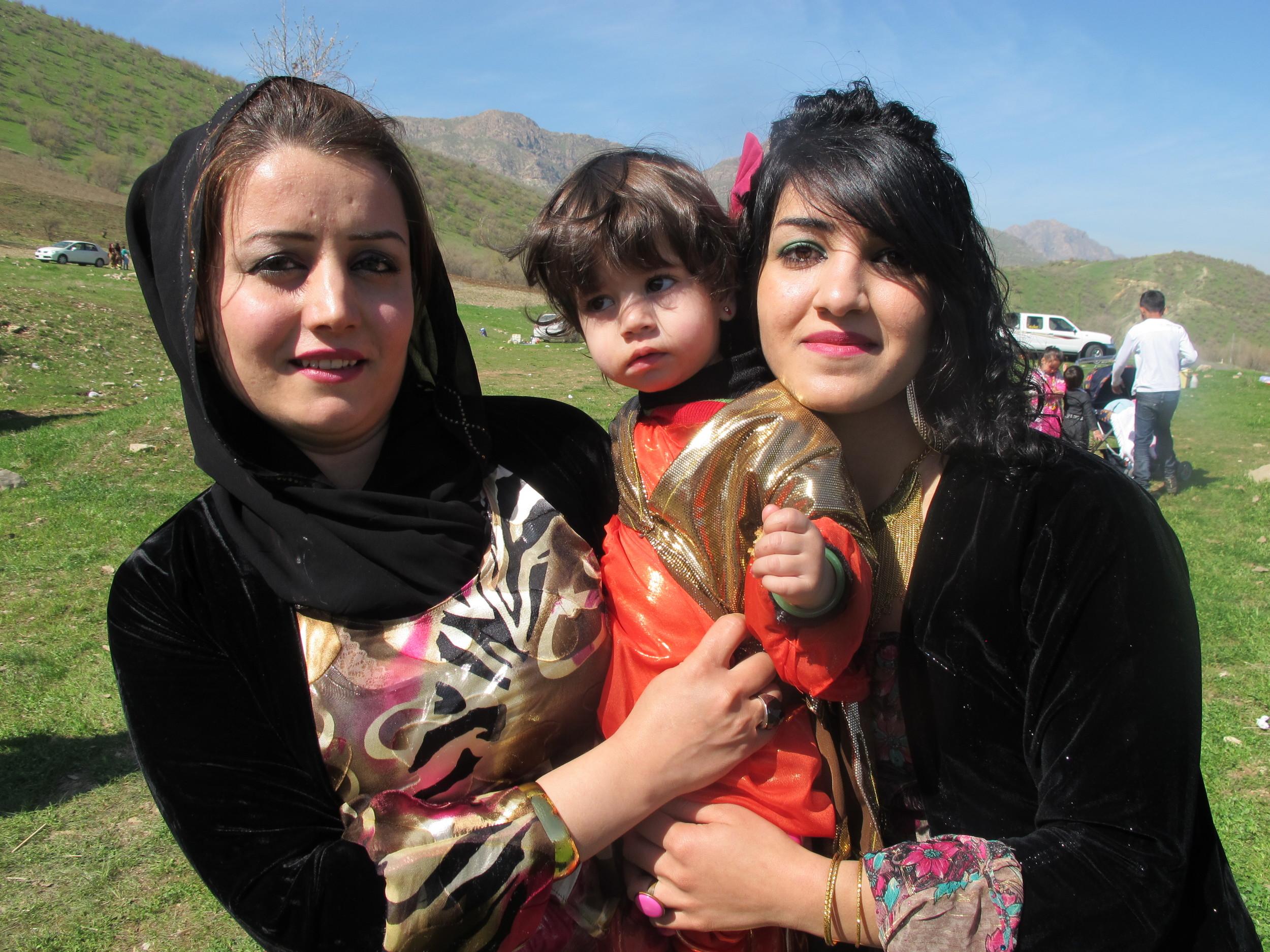 Kurds celebrate the Kurdish New Year, Nowruz