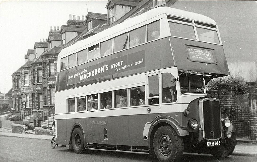 A 1942 Bristol with a utility Bristol body.