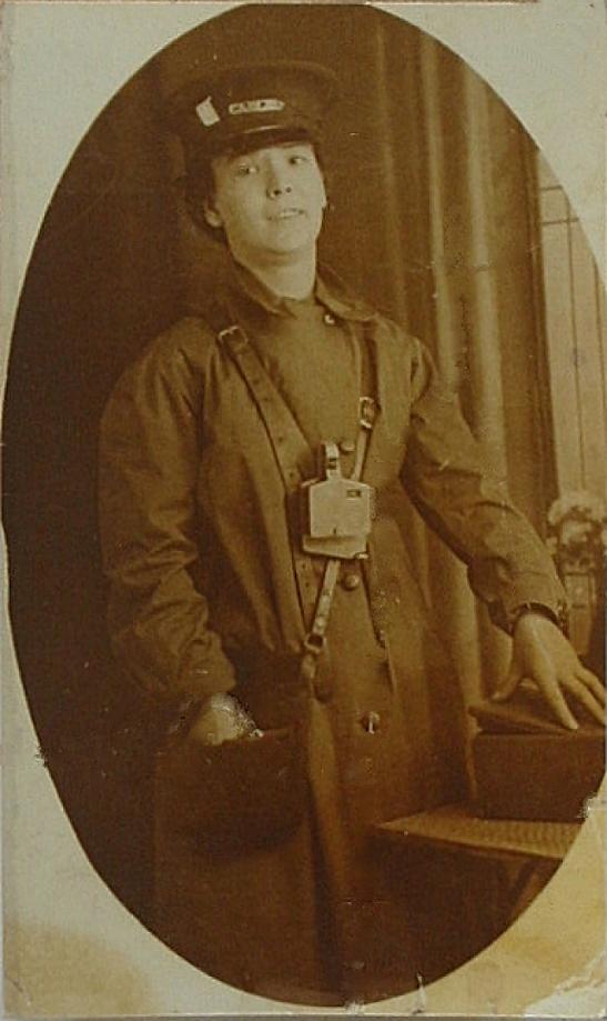 Tram Conductress c.1914-18.