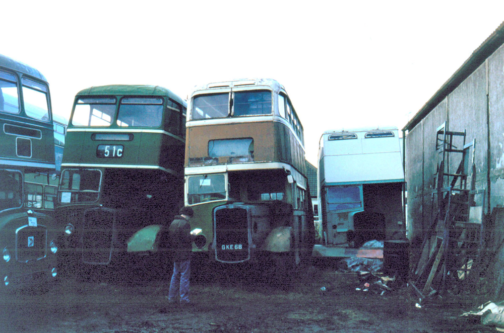 At Canvey Island in the early 1980s