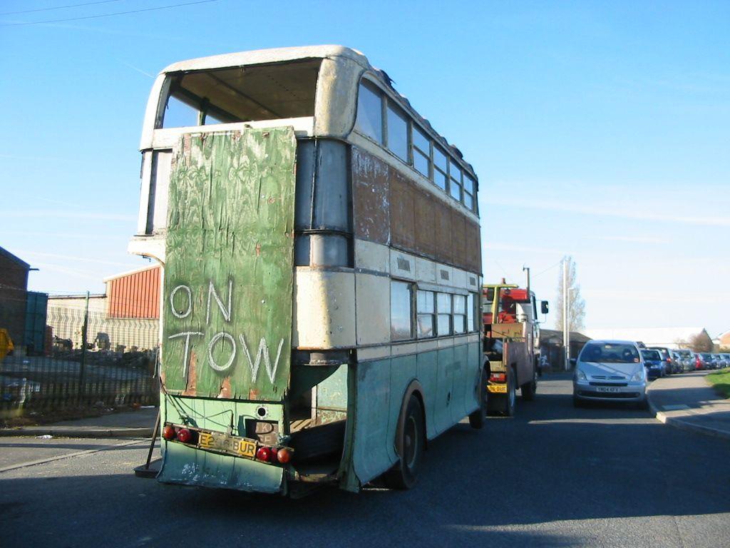 GKE 68 sets off from Barnsley for Kent. 15th November 2007.