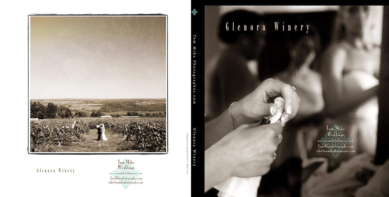 Weddings at the beautiful  Glenora Winery  .