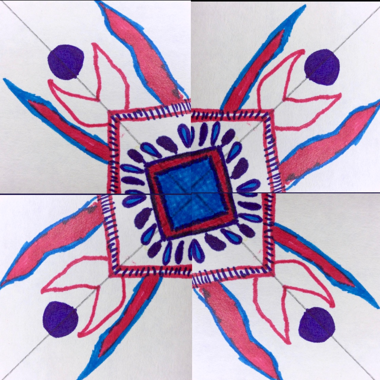 Post it mandalas, grade 4.jpg
