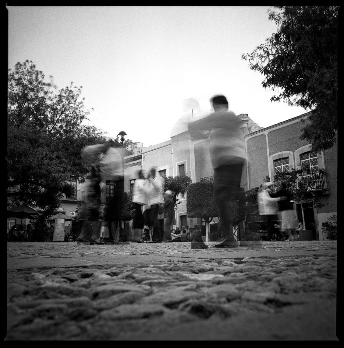 Dancing on the square Guanajuato, Mexico, 2012