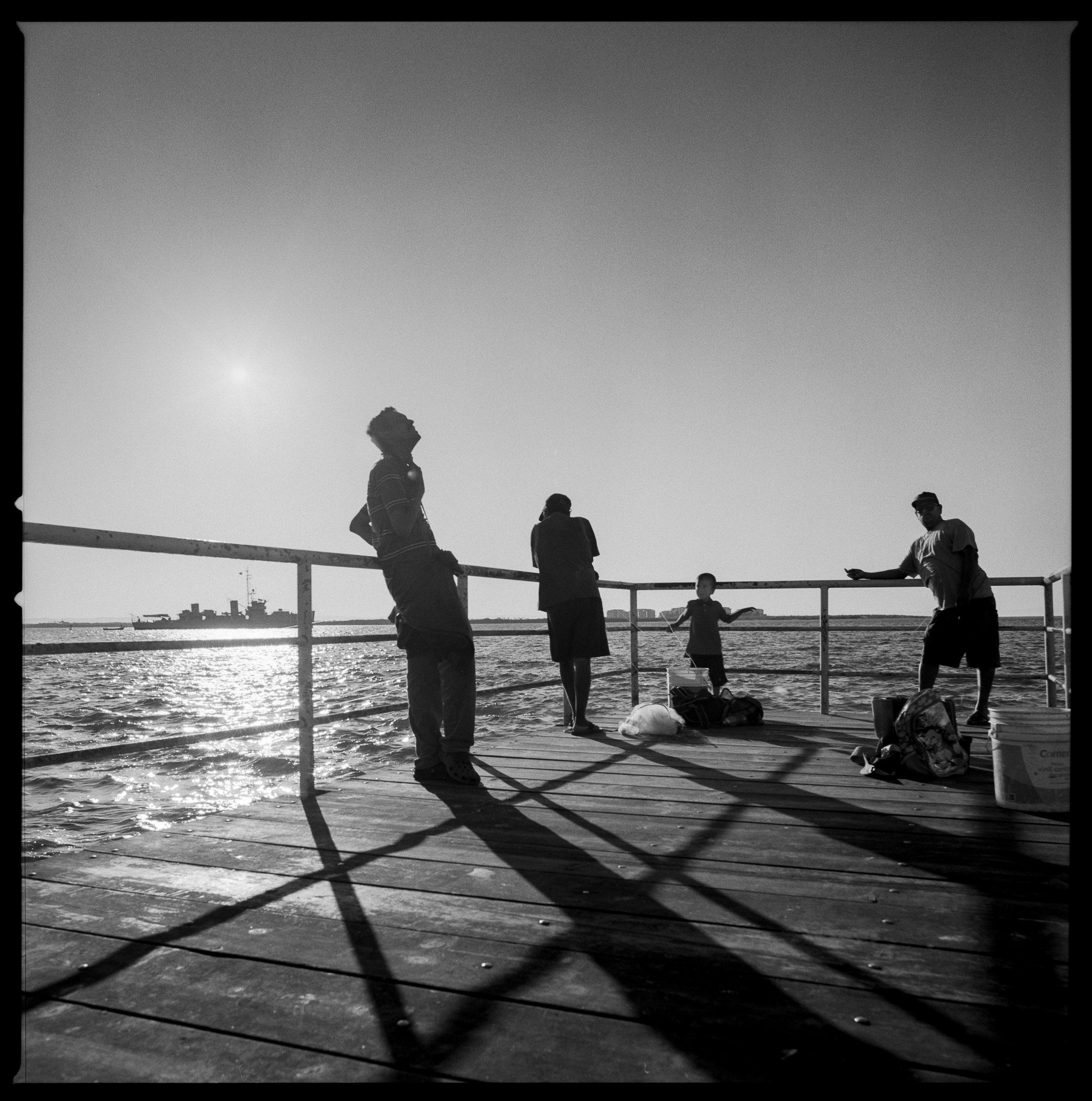 On the pier La Paz, Mexico, 2018