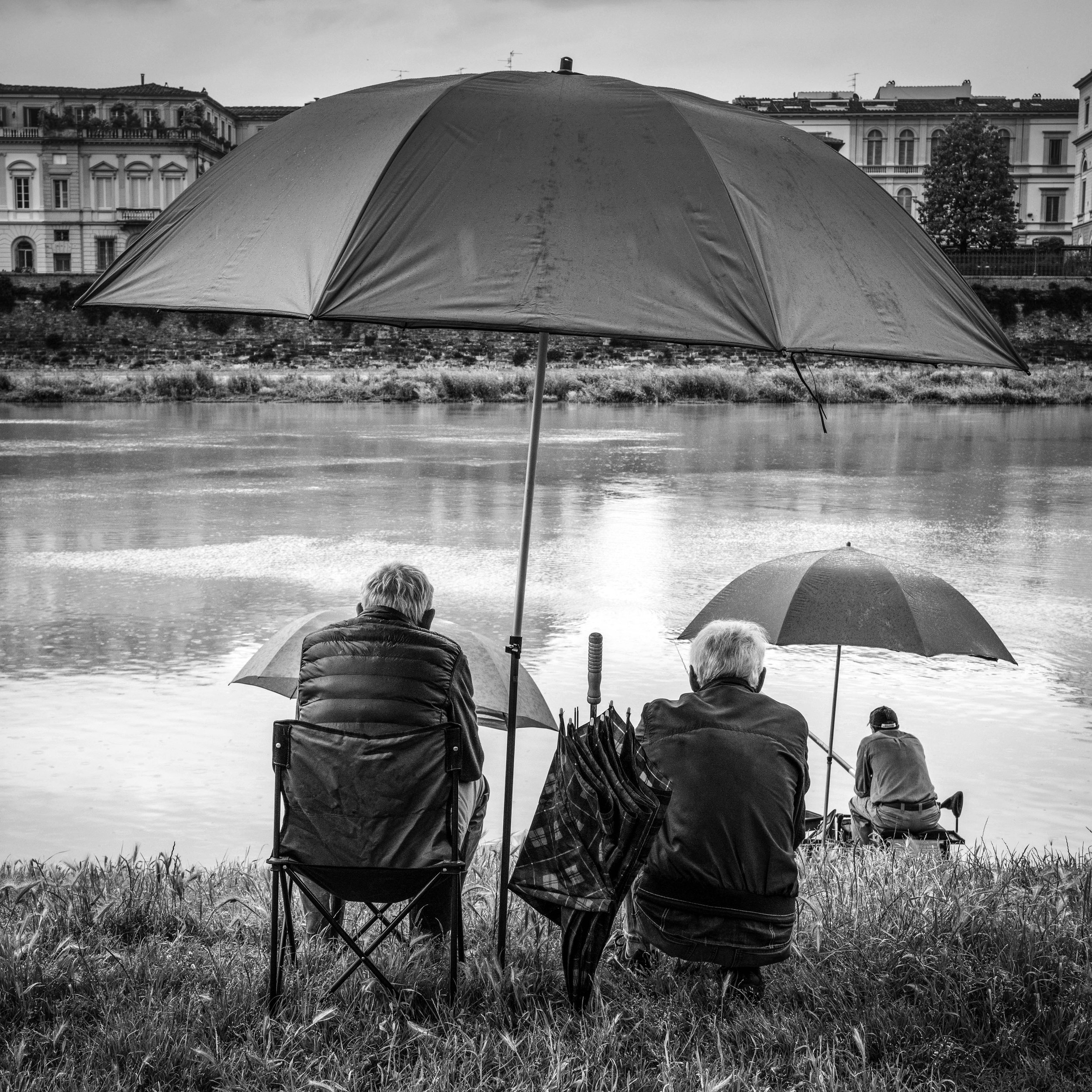 Along the Arno RIver Florence, Italy 2019
