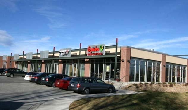 SHOPS AT CENTENNIAL -  150,000 SF exterior retail renovation.
