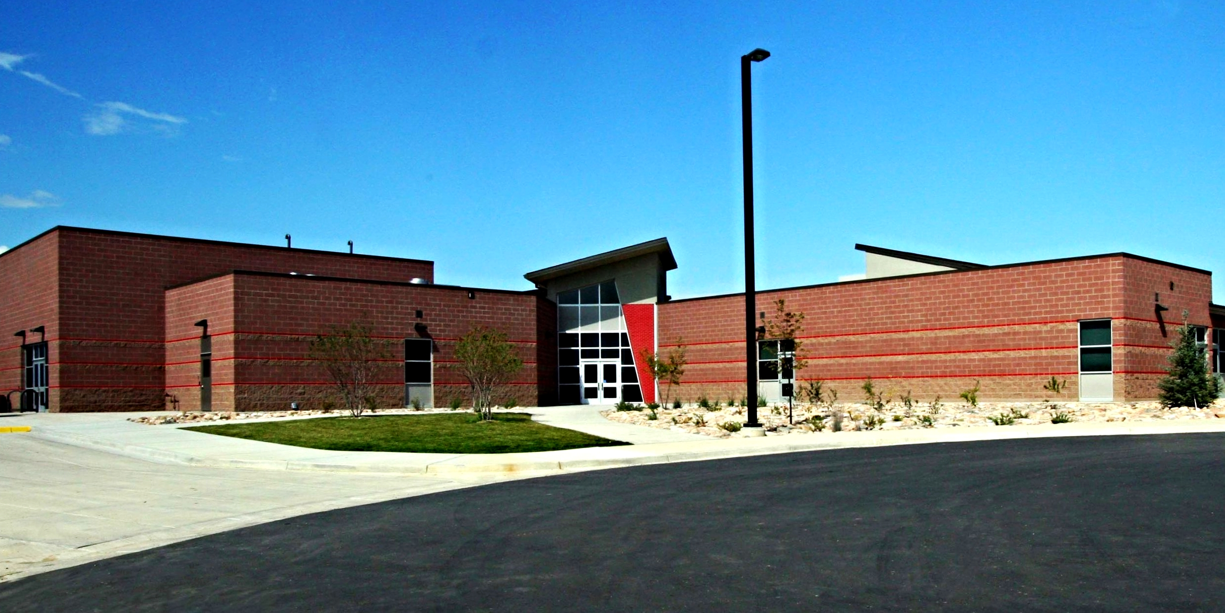 BLACK ROCK ELEMENTARY -  New 56,719 SF elementary school and 10.92 acre site developments including full utility, parking lot, site irrigation, landscaping and playground equipment.