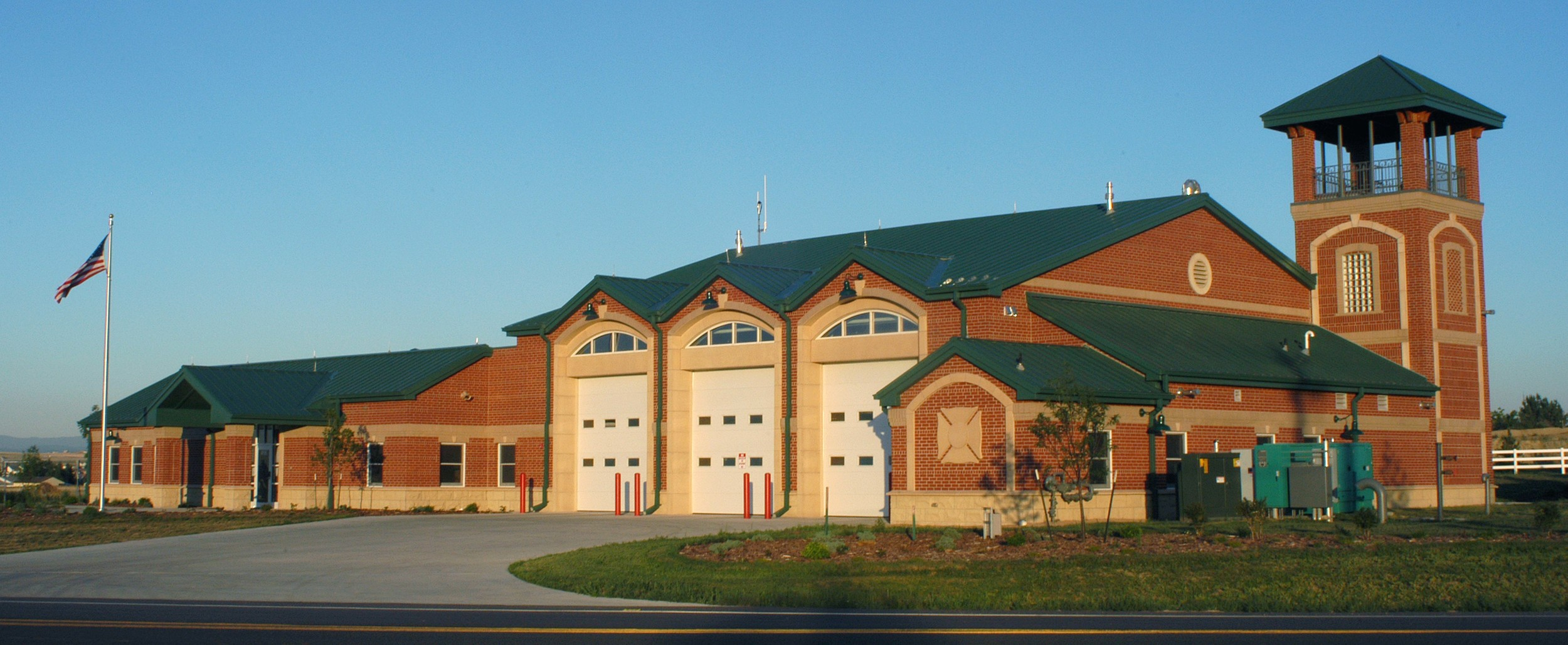 TODD CREEK FIRE STATION - 10,900 SF station with (3) apparatus bays and smoke tower