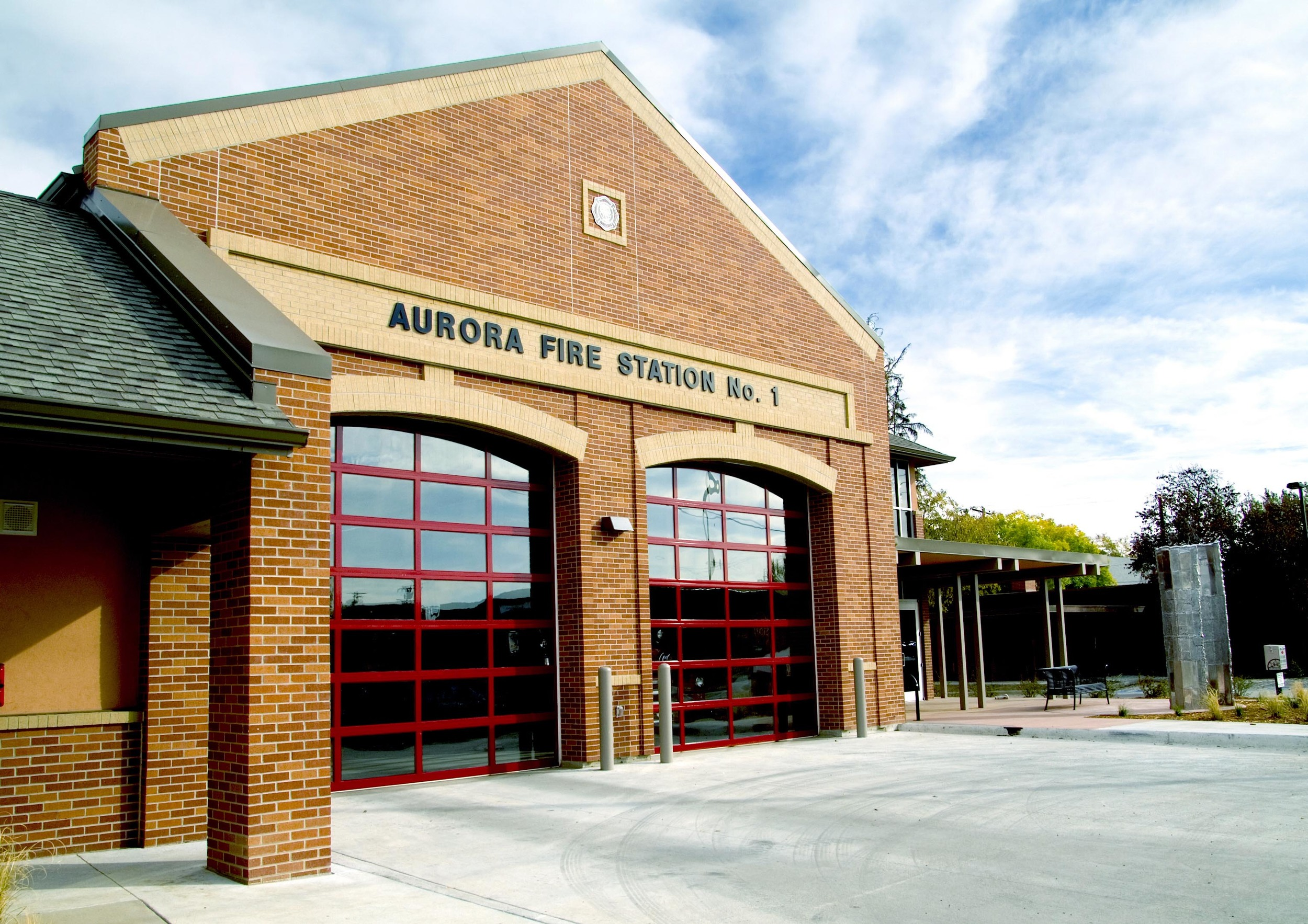 AURORA FIRE STATION NO. 1 -  New 14,000 SF fire station and response center.