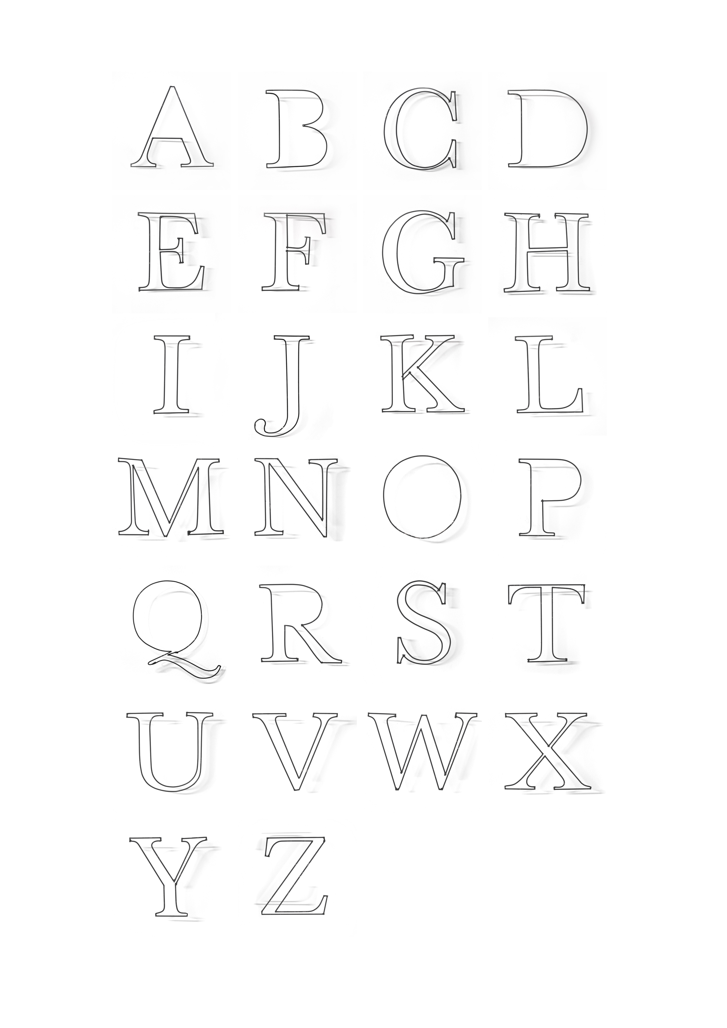 wire typeface