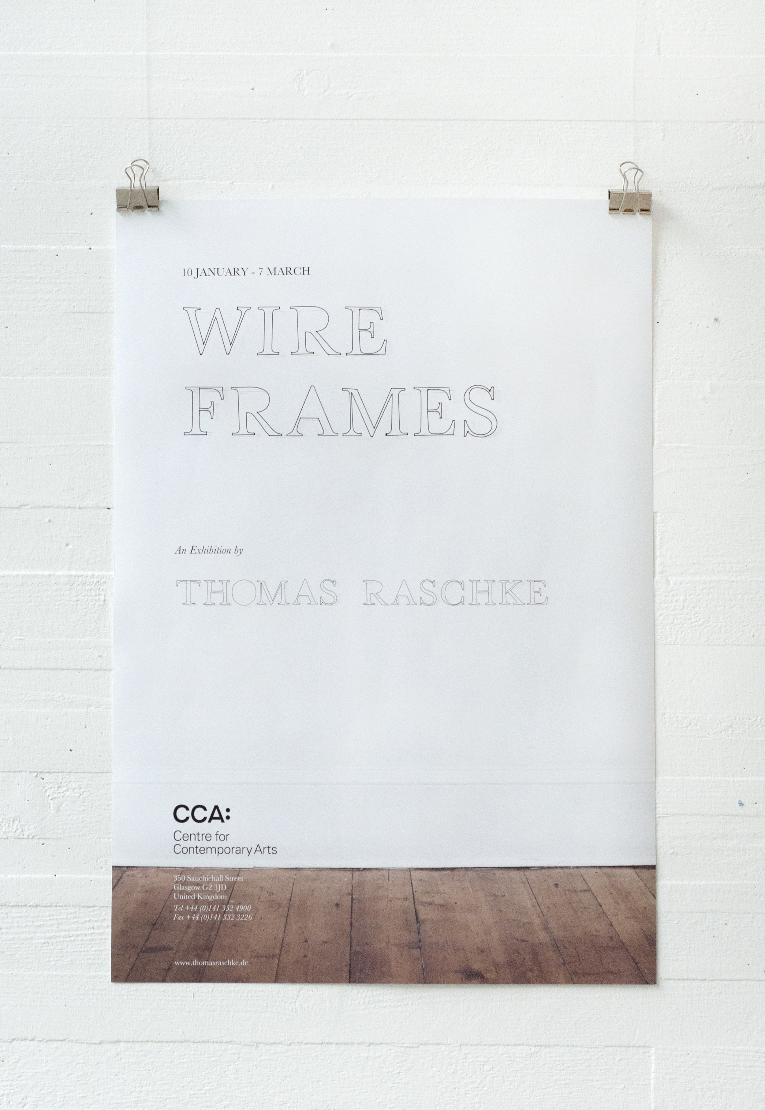 wire frames poster
