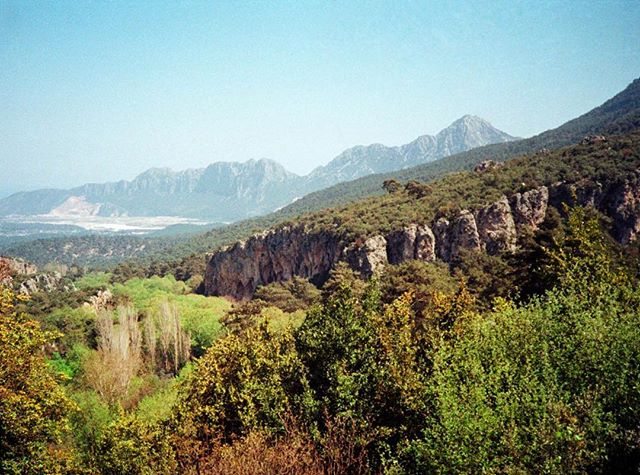 'Tufa central' 35mm photograph taken with my Canon AF35ML in Geyikbayiri, Turkey.