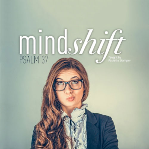 MINDSHIFT - TEACHING VIDEOSIt's no secret, we all know it. The world around us has gone completely crazy. But just because the world is going crazy doesn't mean we have to go with it. As followers of Christ, we are surrounded by the darkness of the world. How can we think differently about our culture? How can we be women who stand out in a world far from God? In this study on Psalm 37, we will discover how to shift our focus from the temporal to the eternal and learn how to be women who stand out as beacons of hope in a dark world.
