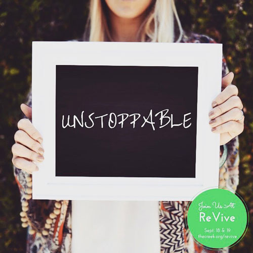 UNSTOPPABLE - CONFERENCE MESSAGE
