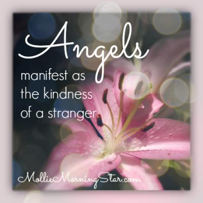Angels | Psychic Medium | Green Bay Botanic Garden | Inspirational Quote