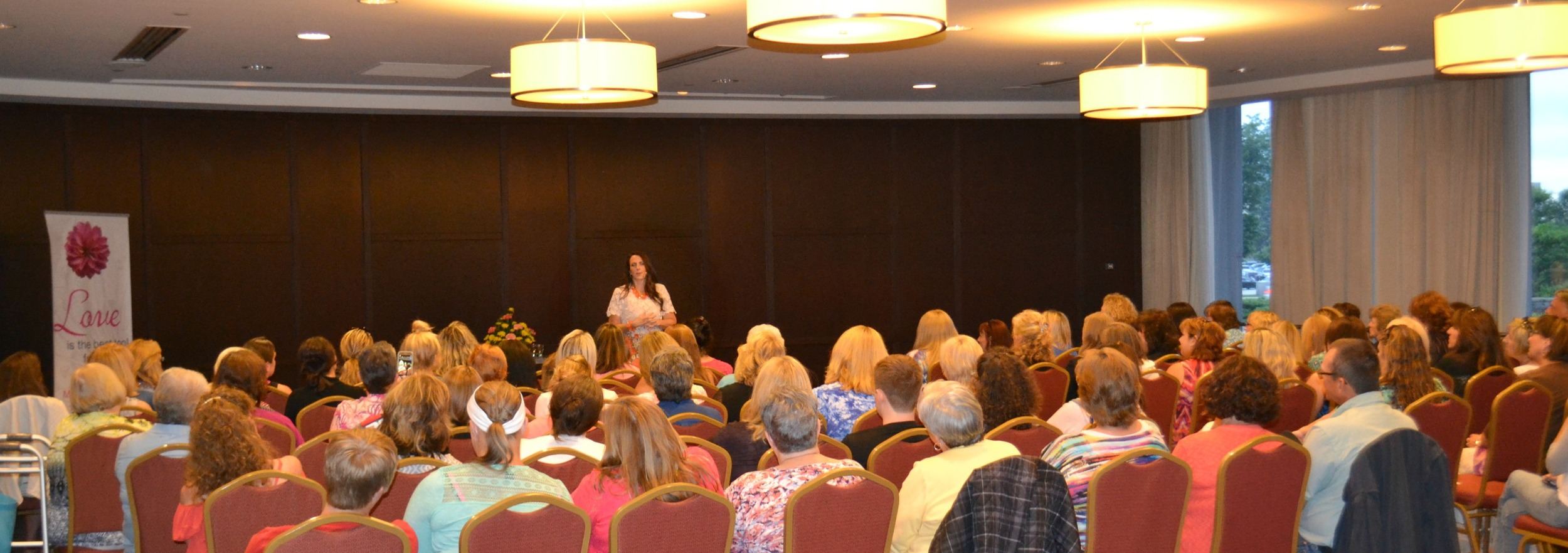 Green Bay Psychic Medium Mollie Morning Star giving live audience readings.
