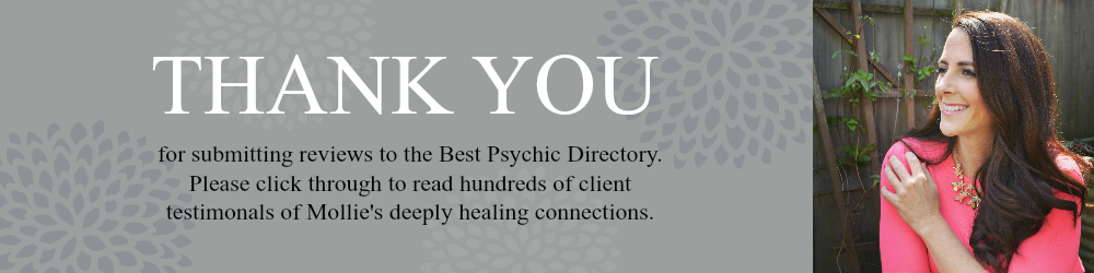 Reviews and testimonials about psychic medium readings with Mollie Morning Star