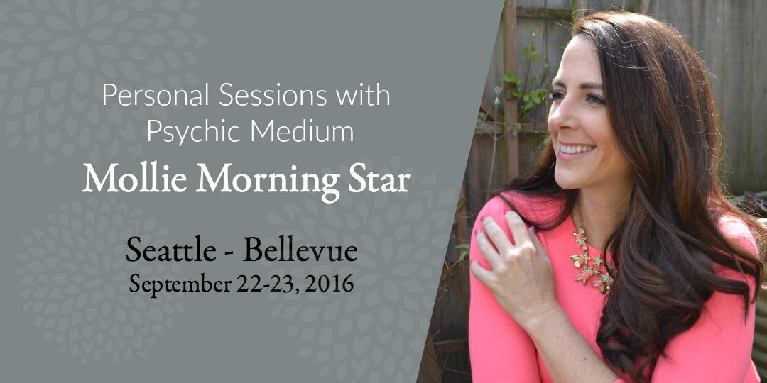 Medium Reading with Mollie Morning Star in Seattle Washington