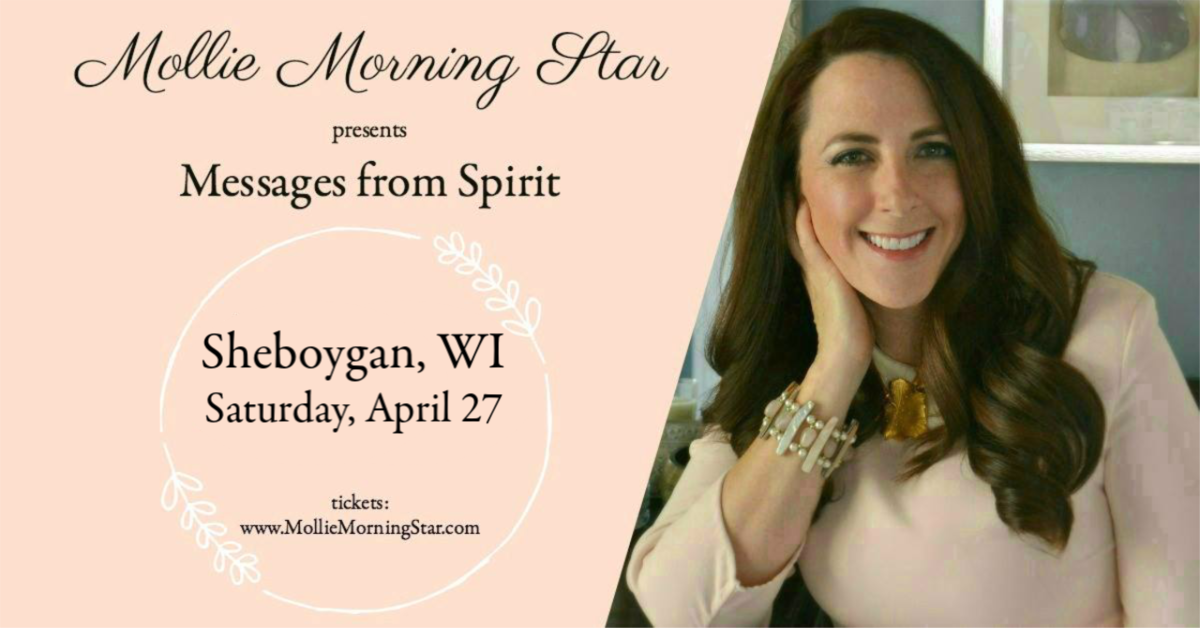 Wisconsin Psychic Medium Mollie Morning Star - Group Reading April 27 - Sheboygan