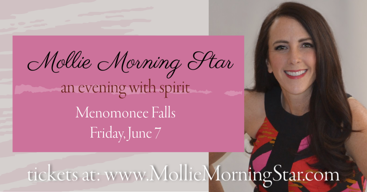 Mollie Morning Star - Psychic Medium -Milwaukee - Menomonee Falls WI - Group Reading -Spirit Medium