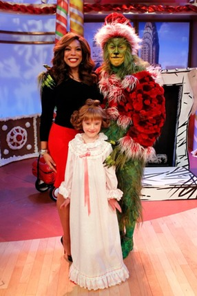 Abigail as Cindy Lou Who on The Wendy Williams Show