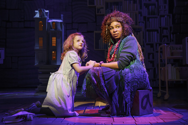 Milly as Matilda with Mrs. Phelps