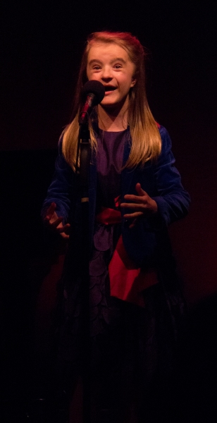 Abigail at Cabaret for a Cause