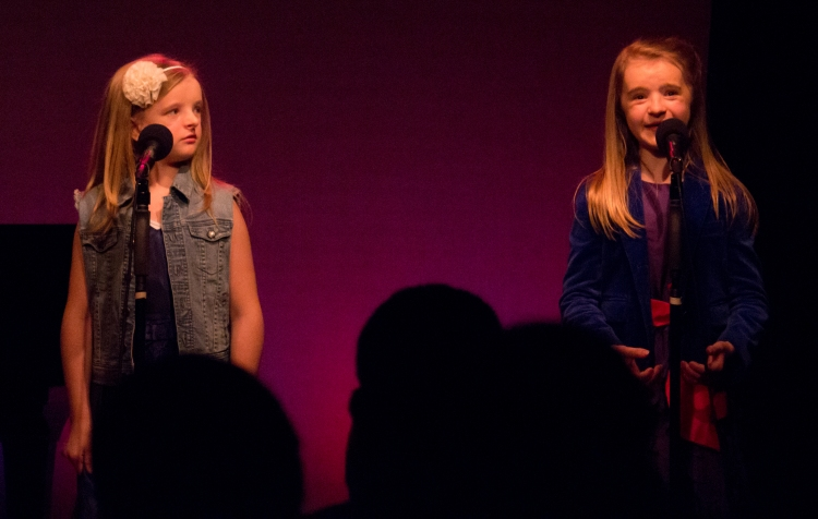 Abigail & Milly at Cabaret for a Cause