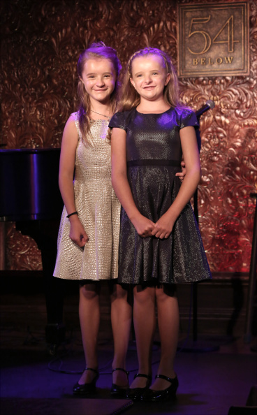 Abigail and Milly in their Cabaret at 54 Below