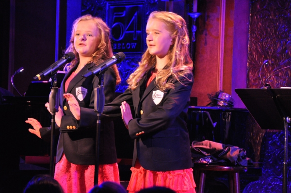 Milly and Abigail at 54 Below
