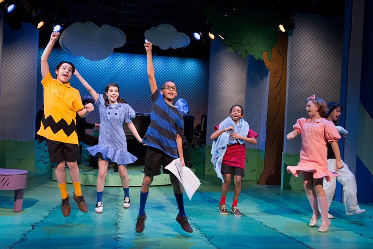 Milly and the Cast of You're A Good Man, Charlie Brown